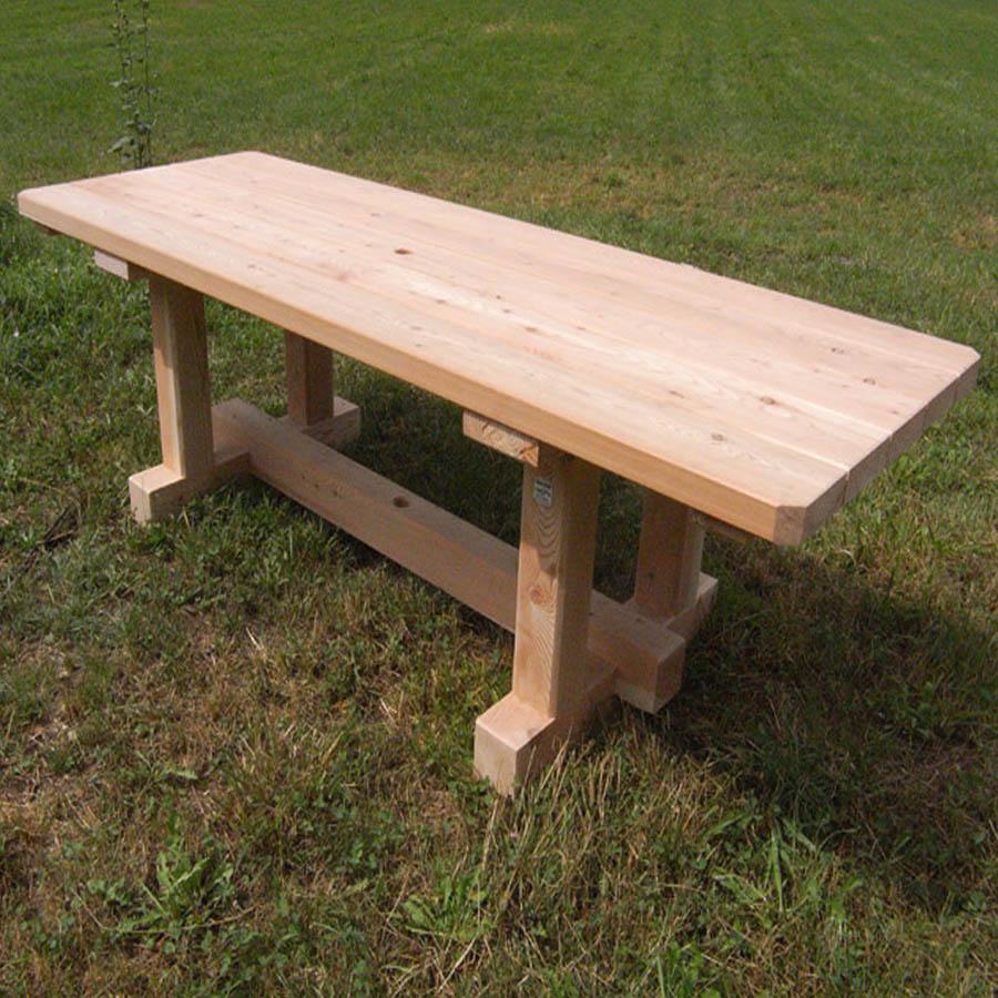 Table Montagnarde en Bois – 8 personnes